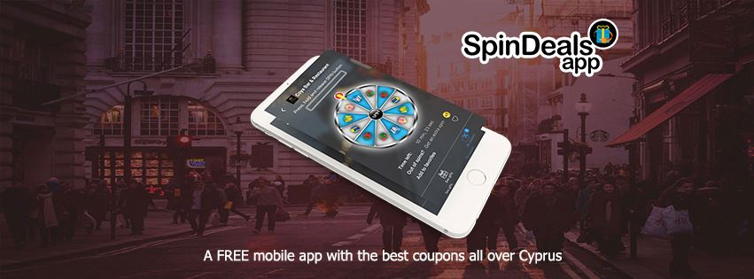 SpinDeals App - The Best Application to Find Deals All Over Cyprus